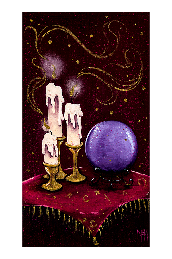 Crystal Ball Giclee Print