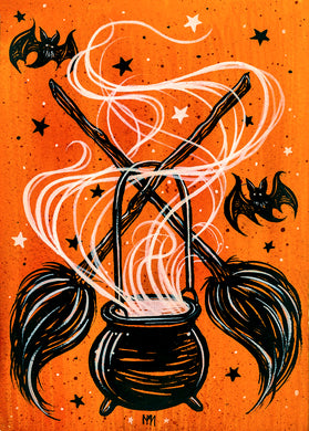 Cast a Spell Giclee Print