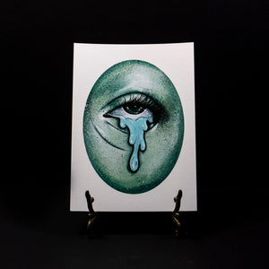 Ghostly Eye 1 - Giclee Print