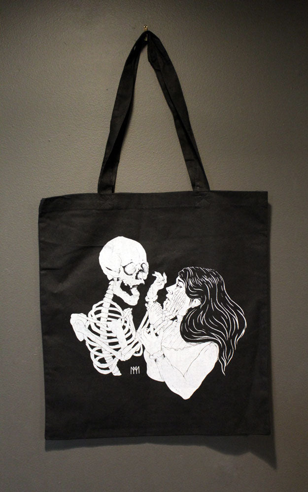 Facing Death Tote Bag