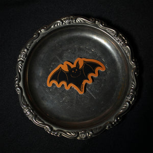 Flying Bat - Trick or Treat Sticker