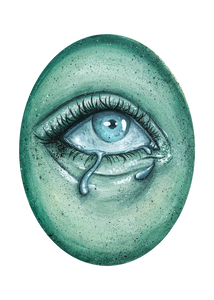 Ghostly Eye 3 - Giclee Print