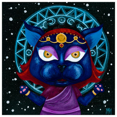 Psychic Panther - Giclee Print
