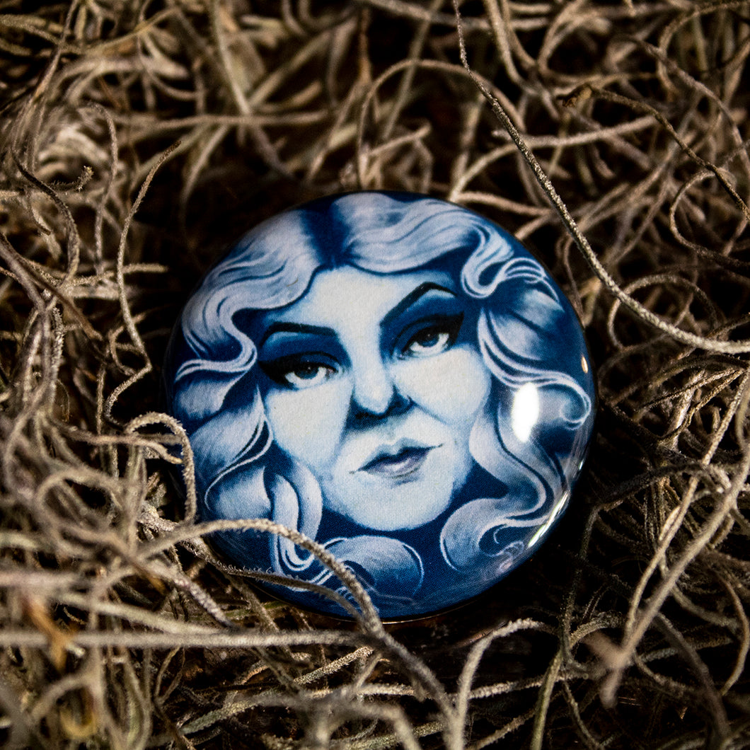 Madame Leota Button