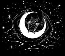 Nocturna Bearer of the Moon Tote Bag