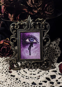 Heart Broken Lover's Eye - Purple