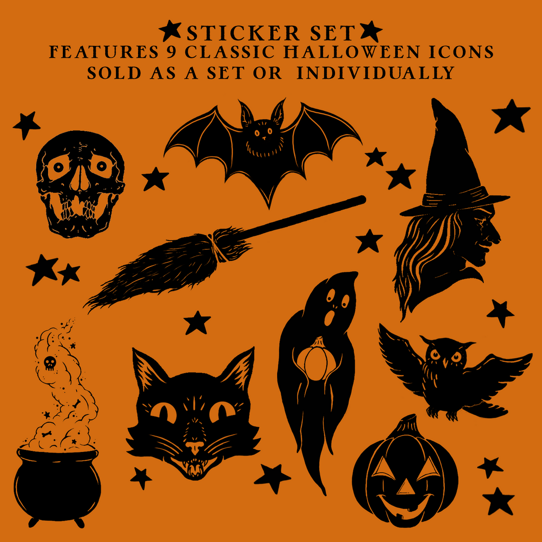 Trick or Treat Sticker Set