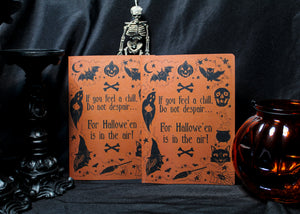 Trick or Treat Notebook