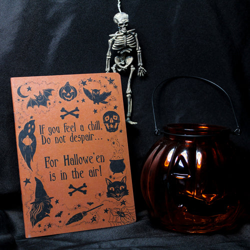 SECONDS SALE Trick or Treat Notebook