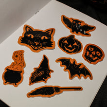 Staring Skull - Trick or Treat Sticker