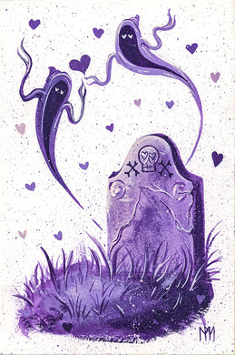 Purple Tomb of Love Giclee Print