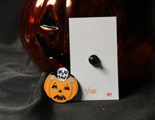 Glowing Peeping Skeleton Limited Edition Pin