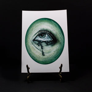 Ghostly Eye 2 - Giclee Print