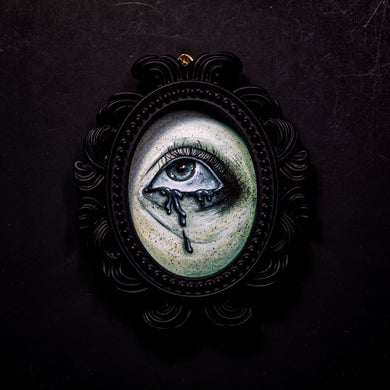 Ghostly Eye 2 Small Framed Print