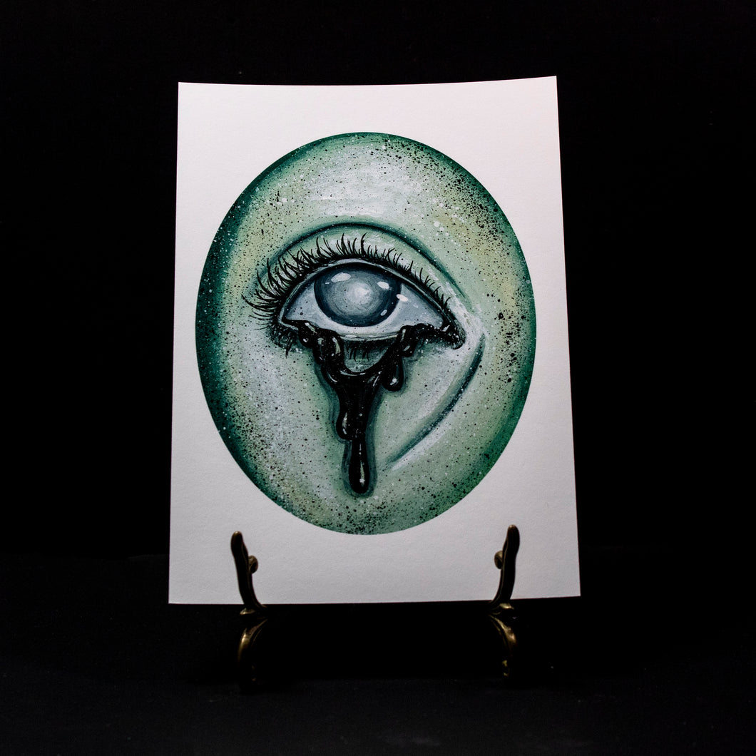 Ghostly Eye 7 - Giclee Print