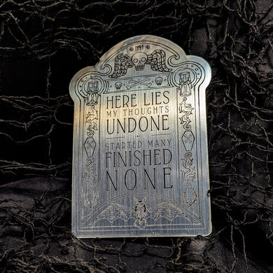Gravestone Sticker