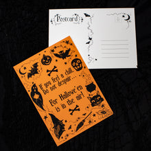Halloween in the Air Postcard