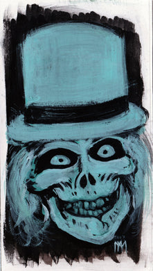 Hatbox Ghost Portrait