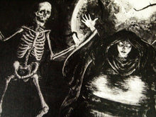 Skeleton Dance - Art Print