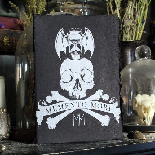Memento Mori Hand-made Sketchbook