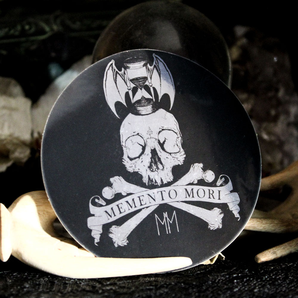 Memento Mori Sticker