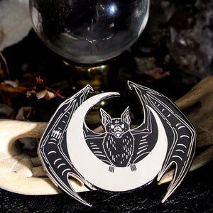 Nocturna, Bearer of the Moon Enamel Pin