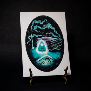 """The Planchette"" Haunting of Hill House Print"