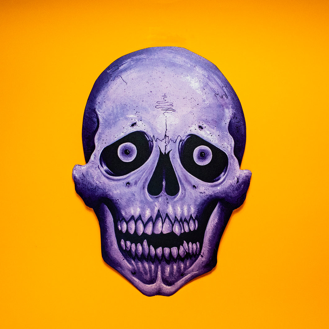 Staring Skull Halloween Decoration - Print