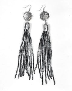 The Tanya Tassel Earrings