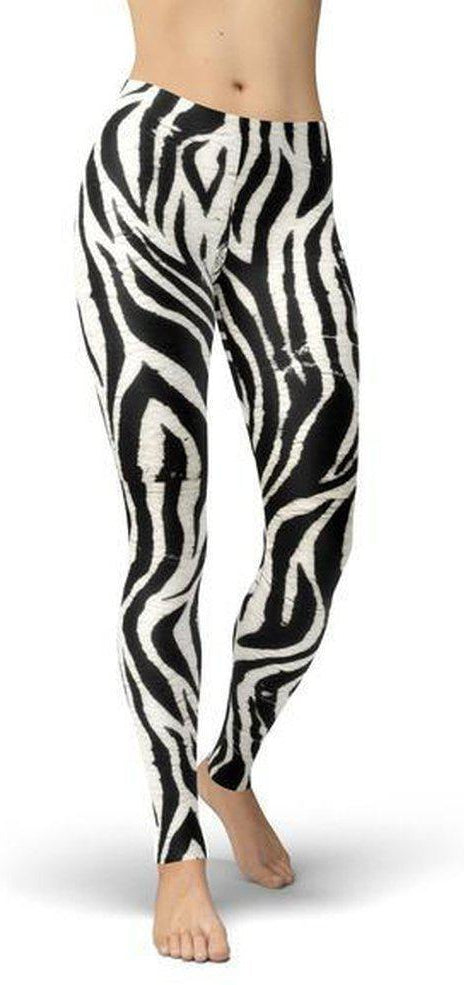 Jean Athletic Zebra Print-WELLNESS HEAVENS