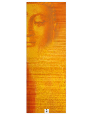Peaceful buddha yoga mat - WELLNESS HEAVENS