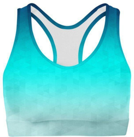 Riptide Triangles Sports Bra-WELLNESS HEAVENS
