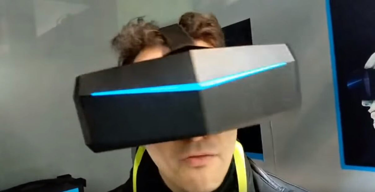 CES 2019 Live: Trying Out The Pimax 5K OLED Version