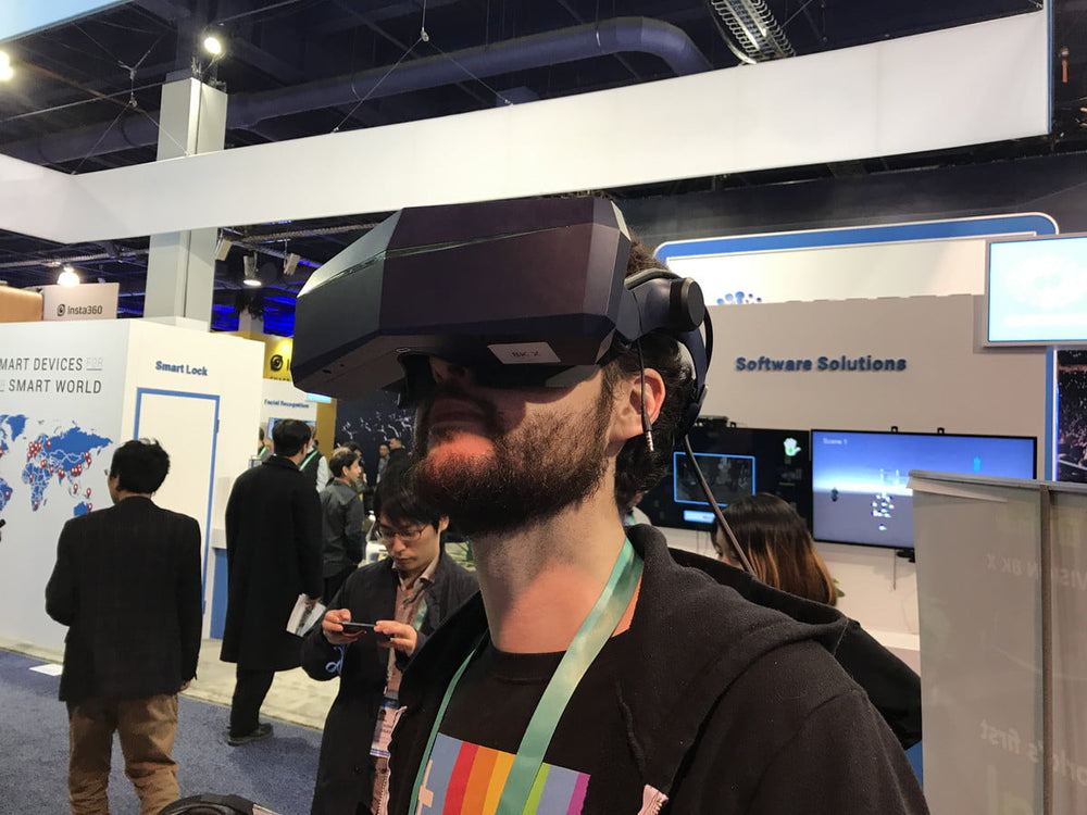 At CES 2020: Pimax 8K X hands-on review