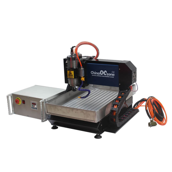 mini cnc mill machine metal 3040 3axis steel frame