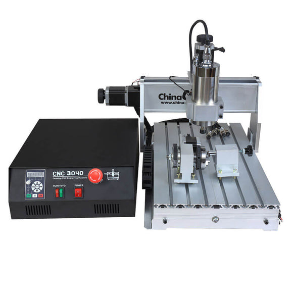 Desktop cnc | mini cnc machine | 3040 cnc | 4axis 800W mini router