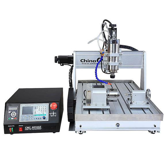 cnc 6040 4 axis | cnc metal cutting | metal cnc milling machine | 4axis 6040 with sink cooling