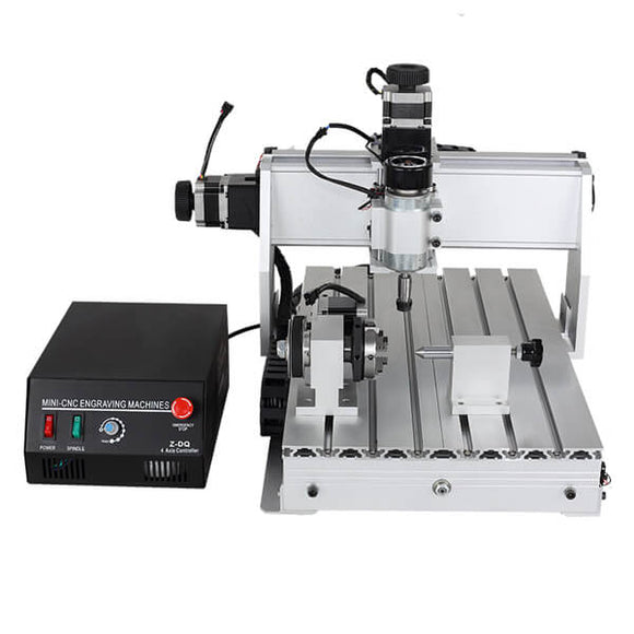 Mini cnc machine | cnc 3040 | 4 axis cnc router | 500W mini cnc