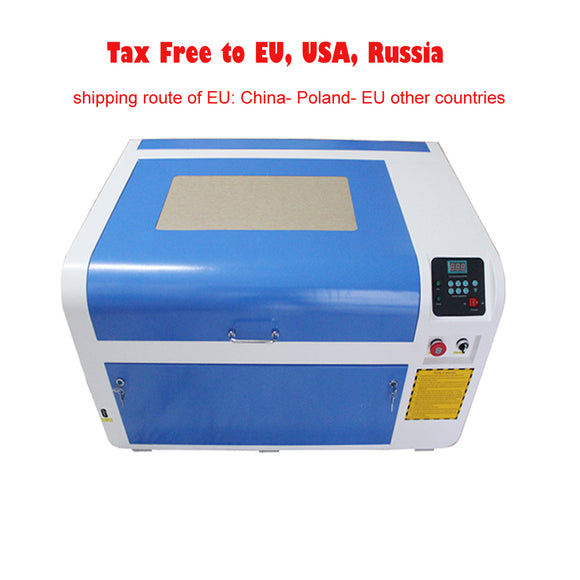 4060 50w 60w laser engraving cutting machine for Plywood/Acrylic/Wood/Leather
