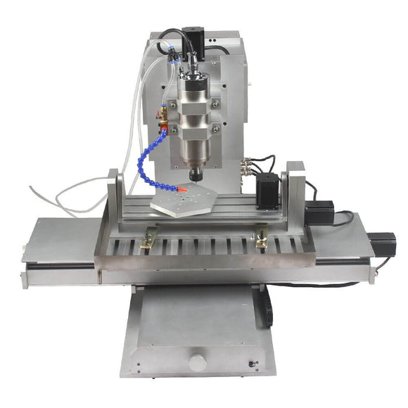 EU&US Free TAX Free shipping | 5 axis cnc mill | 5axis mini cnc router | cnc 5axis | HY6040 5 axis 2200W cnc machine