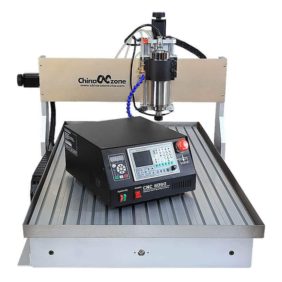 Metal cnc | 3 axis cnc | cnc router 6090 | 2200W cnc machine Mach3 USB DSP controller free shipping