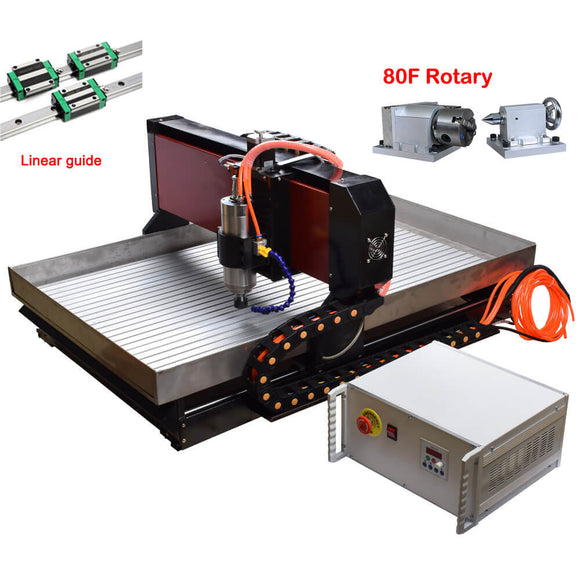 EU&US Free TAX | CNC metal milling machine | 4axis cnc router | 6090 cnc router 2.2kw | free shipping