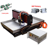 CNC metal milling machine | 4axis cnc router | 6090 cnc router 2.2kw | free shipping