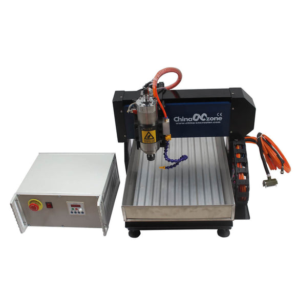 EU&US Free Tax CNC 6040 Router Steel Structure 2.2KW MACH3 USB free shipping
