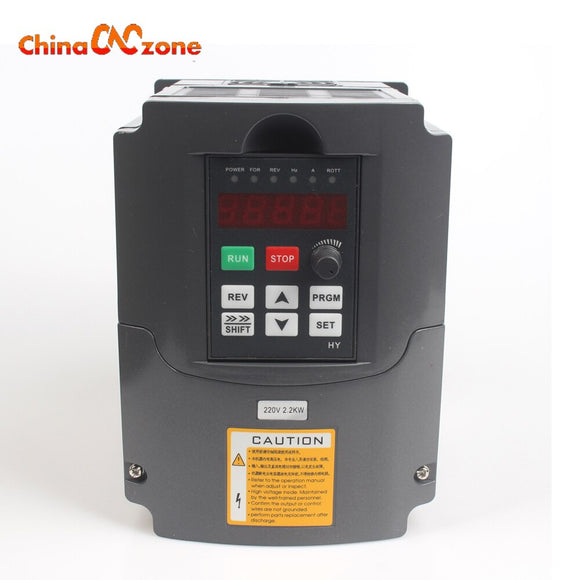CNC Spindle Motor Speed Control 220V 2.2KW VFD Variable Frequency Drive