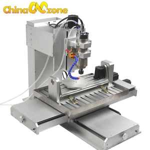 EU&US Free tax Free shipping Newest Mach3 USB CNC 5 axis 6040 CNC Router Engraving Machine