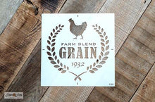 Load image into Gallery viewer, Sugar Sign , Flour Sign , Grain Sign by Funky Junk Old Sign Stencils