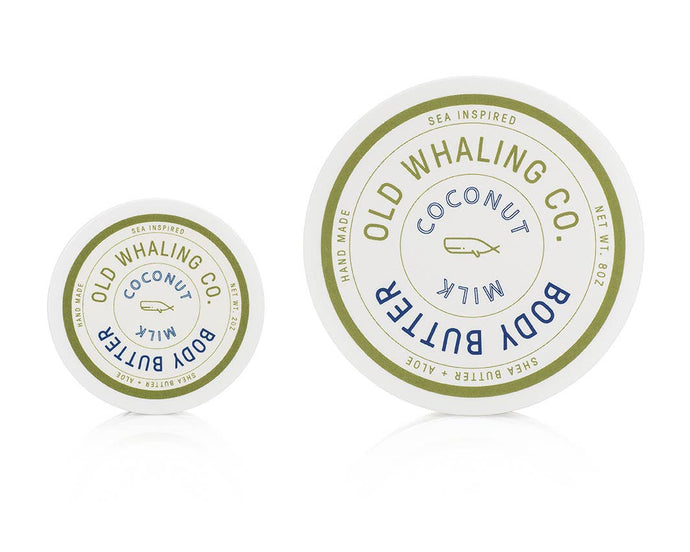 Copy of Whaling Co.  Body Butter  Coconut Milk