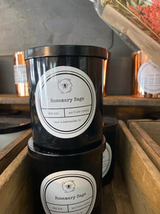 Rosemary Sage  Bee YOU Soy Candle