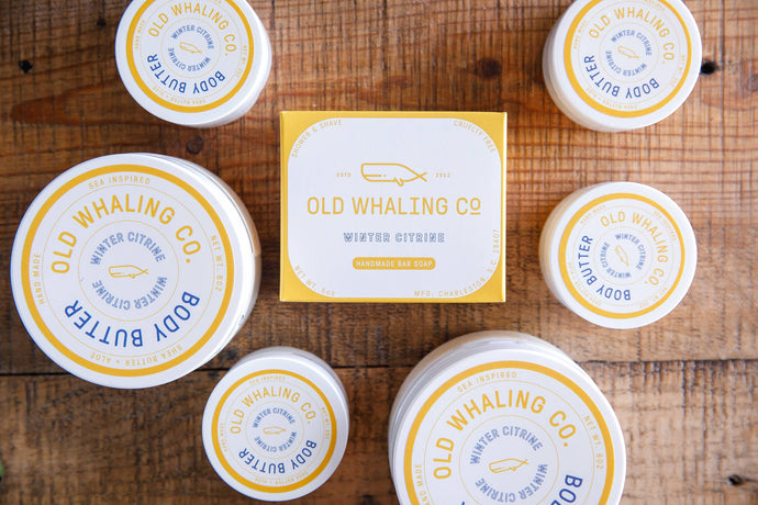 Old Whaling Co.  Body Butter  Winter Citrine